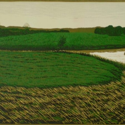 Confluence at Kings Mill, 24x48cm, ed: 15, no longer available