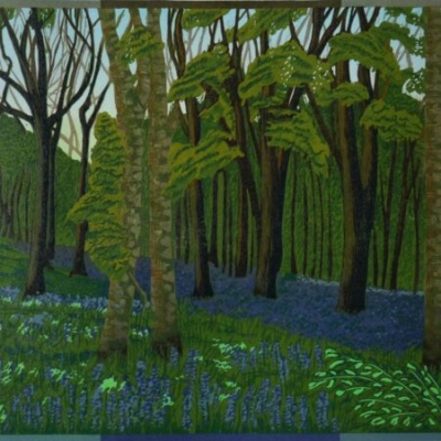 Duncliffe Wood,32x37cm, no longer available