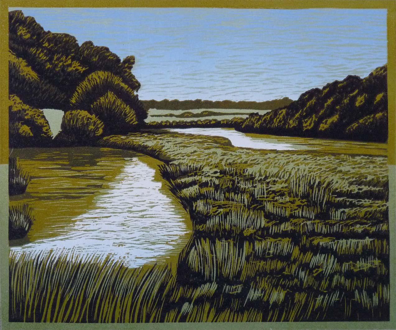 River at Dusk, 20x24, ed: 22, no longer available