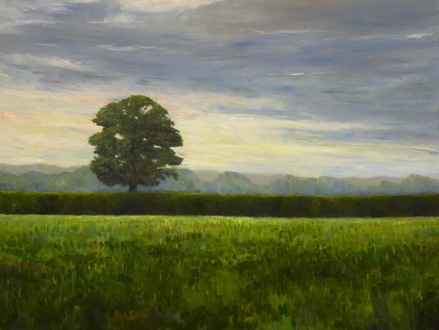 Early One Morning, oil on canvas, private collection