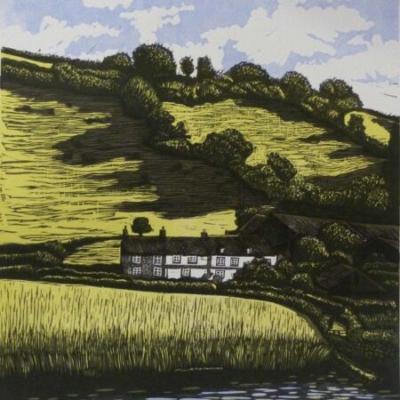 View of Ferry Farm, 36x27cm, ed: 20, £195