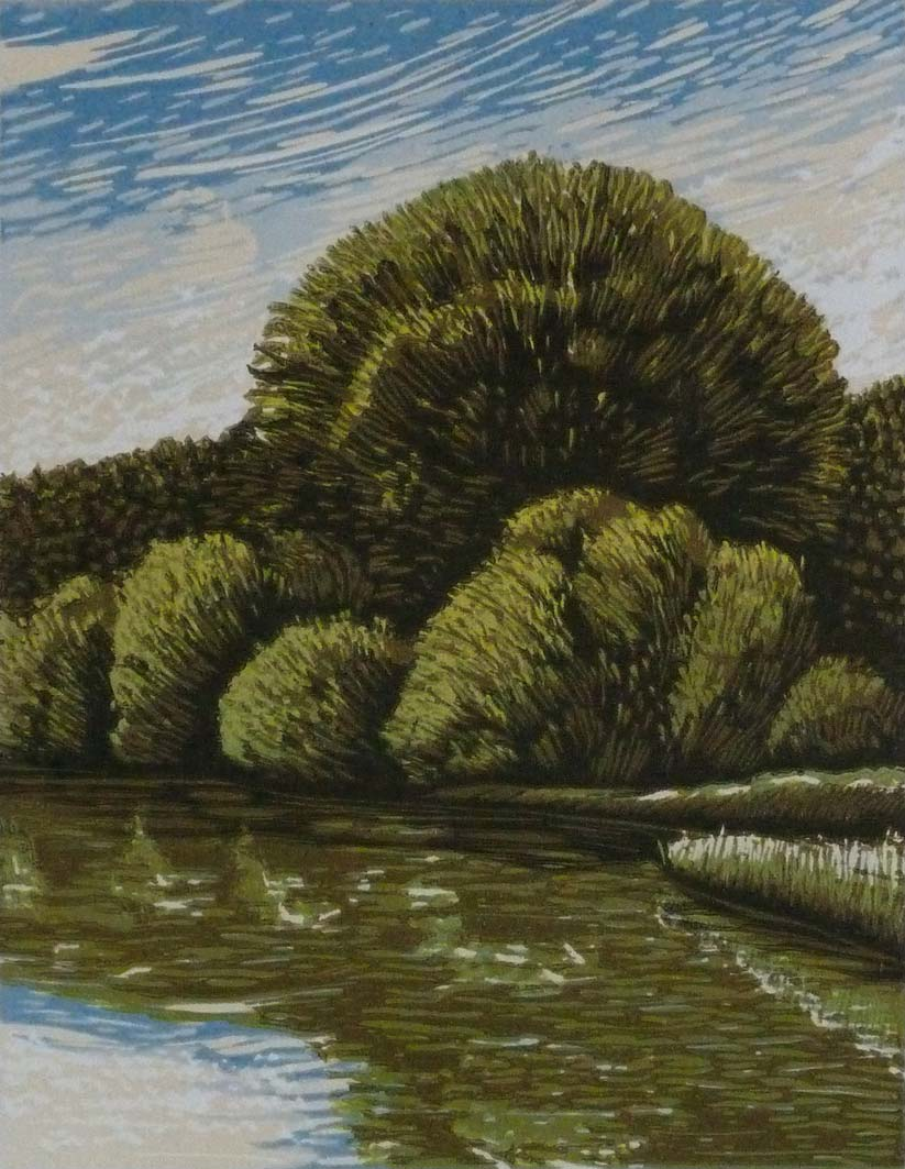 River Reflections, 17.5x13.5cm, ed:22, £100