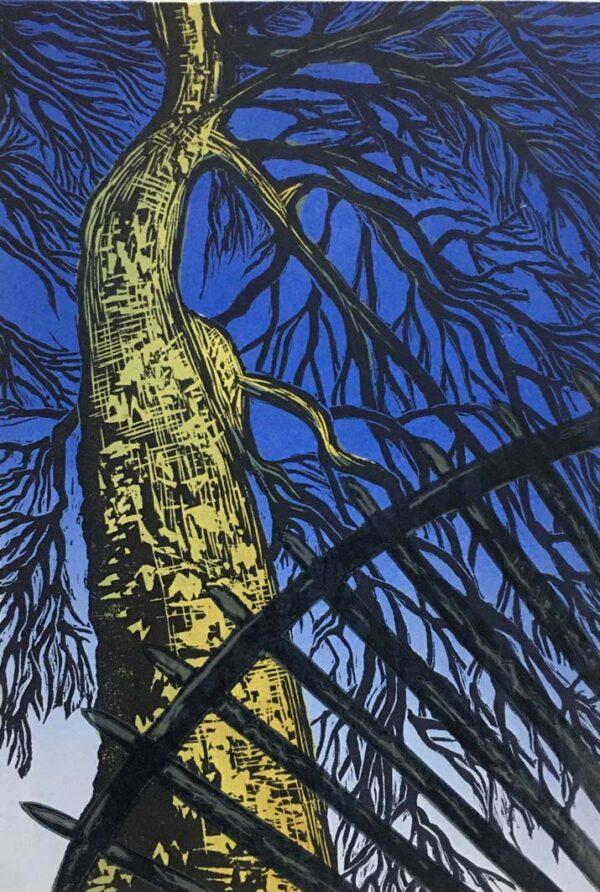 Lino Print At Blackfriars