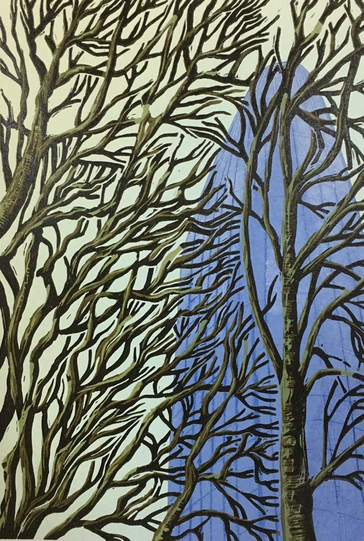 Sky Scraping, 26x17.5cm, ed: 20, £195
